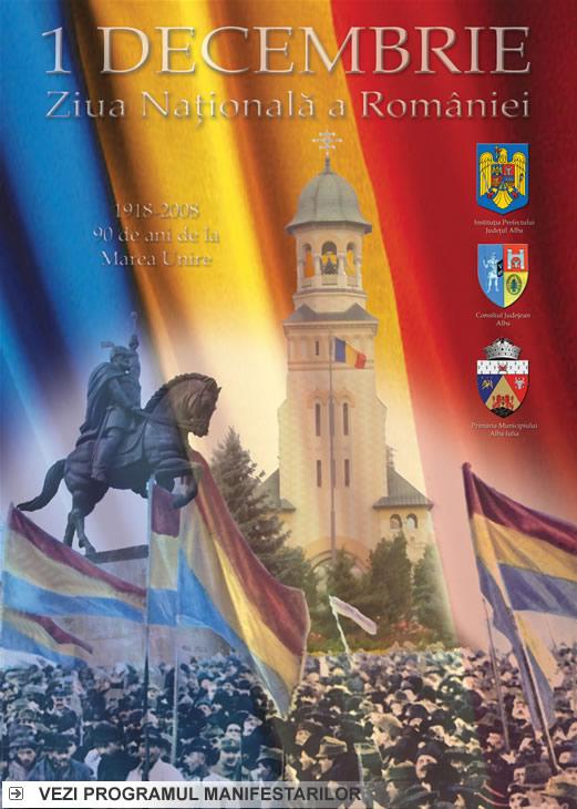 program 1 decembrie 2008 alba iulia ziua nationala