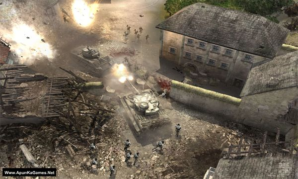 Company of Heroes 1 Screenshot 1, Full Version, PC Game, Download Free