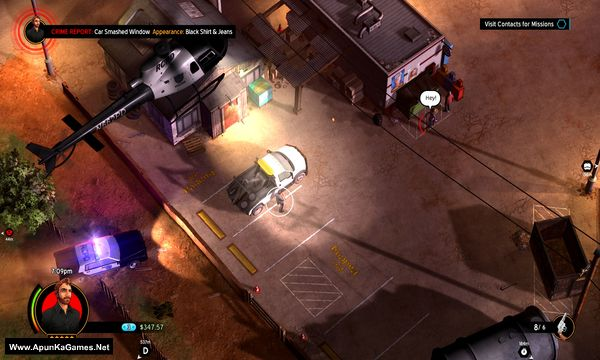 American Fugitive Screenshot 1, Full Version, PC Game, Download Free