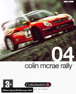 Colin McRae Rally 04 Cover, Poster, Full Version, PC Game, Download Free