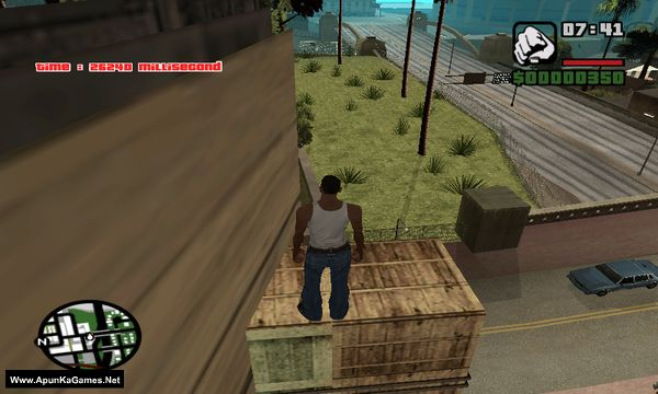 GTA San Andreas Parkour Challenge Mod Screenshot 2, Full Version, PC Game, Download Free