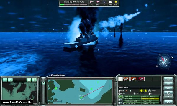Naval War: Arctic Circle Screenshot 2, Full Version, PC Game, Download Free