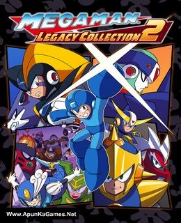 Mega Man Legacy Collection 2 Cover, Poster, Full Version, PC Game, Download Free