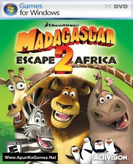 Madagascar: Escape 2 Africa Cover, Poster, Full Version, PC Game, Download Free