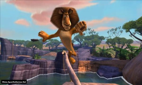 Madagascar: Escape 2 Africa Screenshot 1, Full Version, PC Game, Download Free