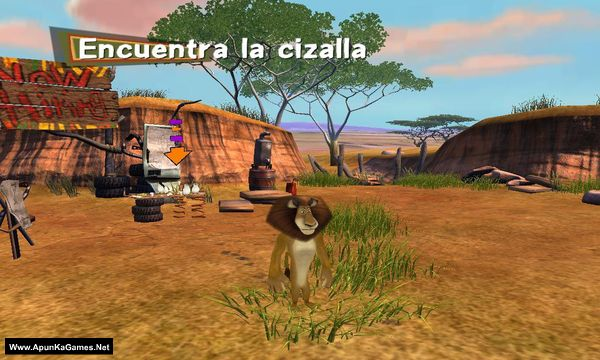 Madagascar: Escape 2 Africa Screenshot 3, Full Version, PC Game, Download Free