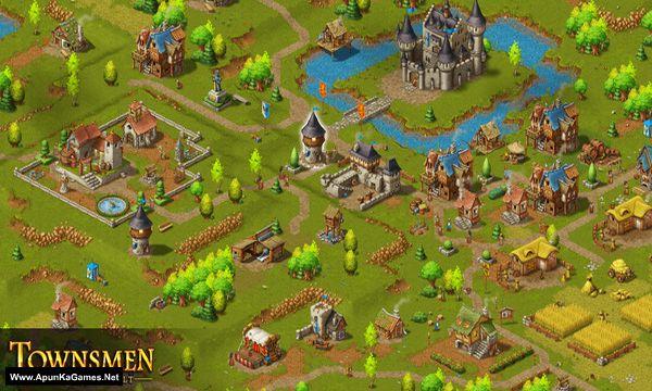 Townsmen - A Kingdom Rebuilt Screenshot 1, Full Version, PC Game, Download Free
