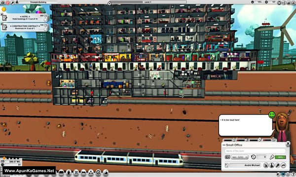 Mad Tower Tycoon Screenshot 1, Full Version, PC Game, Download Free