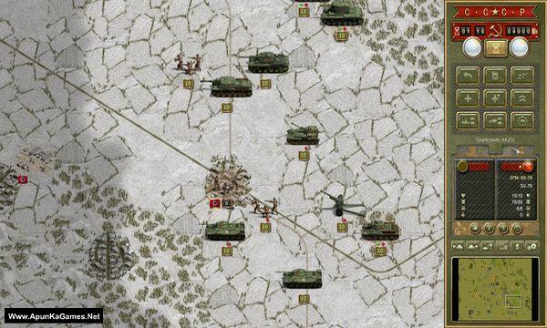 Panzer Corps: Soviet Corps Screenshot 1, Full Version, PC Game, Download Free