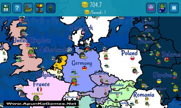 Dictators:No Peace Countryballs Screenshot 1, Full Version, PC Game, Download Free