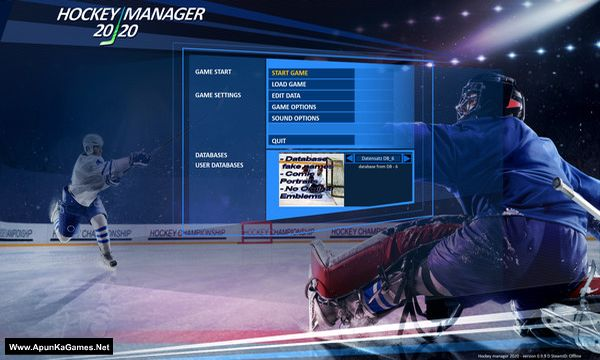 Hockey Manager 20|20 Screenshot 2, Full Version, PC Game, Download Free