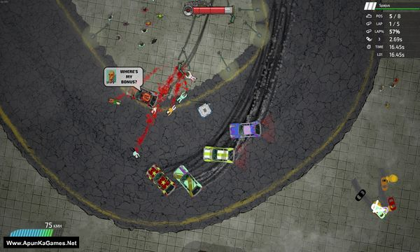 Bloody Rally Show Screenshot 1, Full Version, PC Game, Download Free