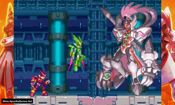 Mega Man Zero/ZX Legacy Collection Screenshot 1, Full Version, PC Game, Download Free