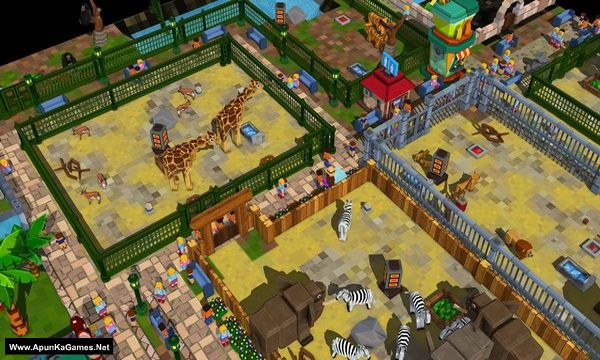 Zoo Constructor Screenshot 1, Full Version, PC Game, Download Free