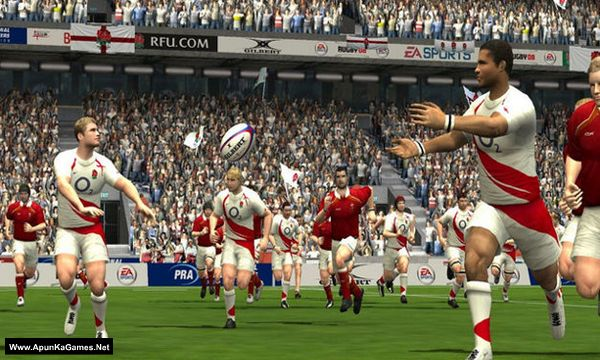 EA Sports Rugby 08 Screenshot 1, Full Version, PC Game, Download Free