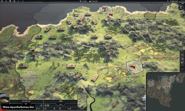 Panzer Corps 2 General Edition Screenshot 2, Full Version, PC Game, Download Free