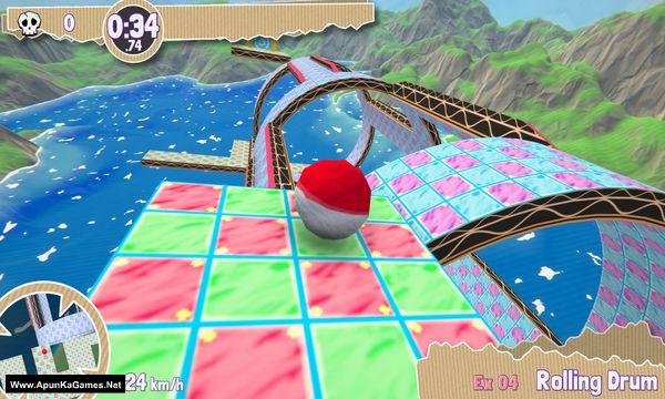Paperball Screenshot 1, Full Version, PC Game, Download Free
