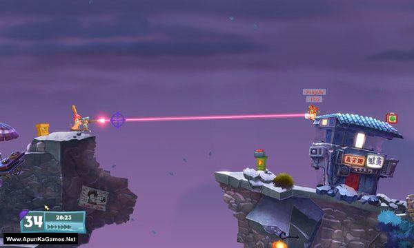 Worms W.M.D Screenshot 2, Full Version, PC Game, Download Free