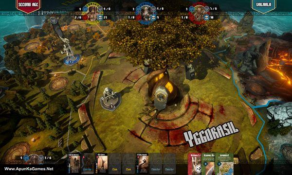 Blood Rage Digital Edition Screenshot 2, Full Version, PC Game, Download Free