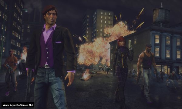 Saints Row The Third Remastered Screenshot 2, Full Version, PC Game, Download Free