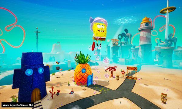 SpongeBob SquarePants: Battle for Bikini Bottom – Rehydrated Screenshot 1, Full Version, PC Game, Download Free