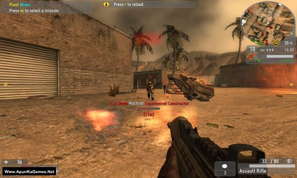 Enemy Territory: Quake Wars Screenshot 1, Full Version, PC Game, Download Free