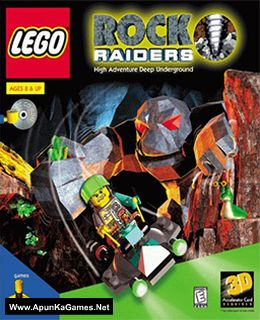 Lego Rock Raiders Cover, Poster, Full Version, PC Game, Download Free