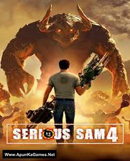 Serious Sam 4 Cover, Poster, Full Version, PC Game, Download Free