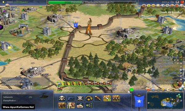 Sid Meier's Civilization 4 Screenshot 1, Full Version, PC Game, Download Free