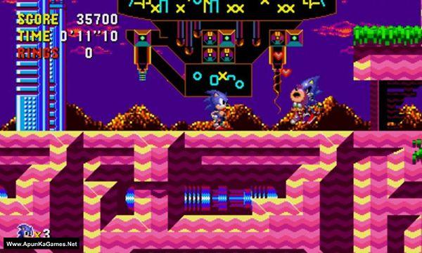 Sonic CD Screenshot 2, Full Version, PC Game, Download Free