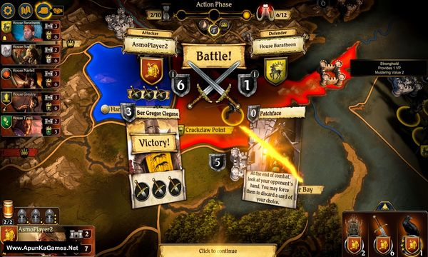 A Game of Thrones: The Board Game Screenshot 1, Full Version, PC Game, Download Free