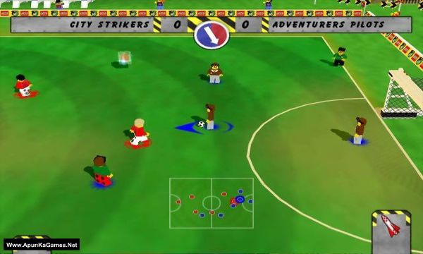 LEGO Soccer Mania Screenshot 1, Full Version, PC Game, Download Free