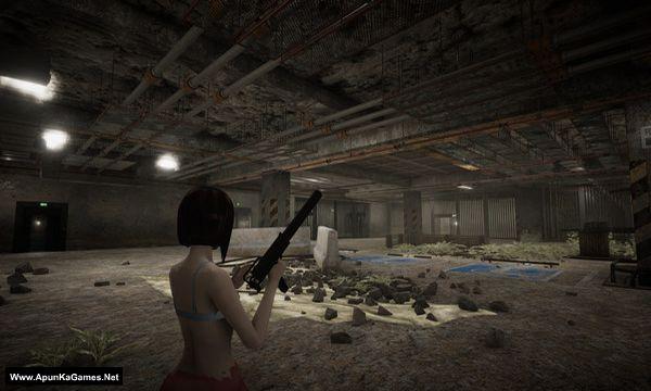 Walking Girl: Dead Parking Screenshot 1, Full Version, PC Game, Download Free