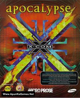 X-COM: Apocalypse Cover, Poster, Full Version, PC Game, Download Free