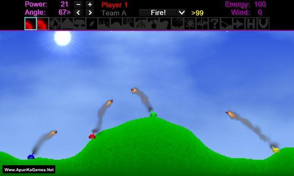 Tank Wars: Anniversary Edition Screenshot 1, Full Version, PC Game, Download Free