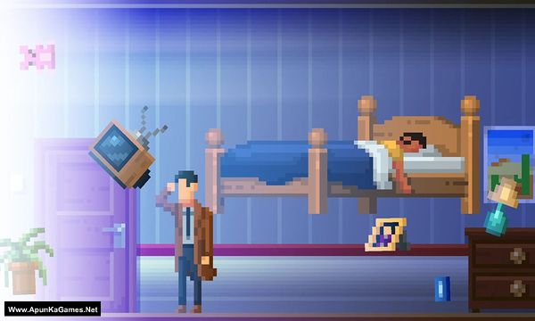 The Darkside Detective: A Fumble in the Dark Screenshot 1, Full Version, PC Game, Download Free