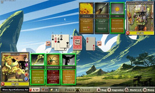 Poker Quest Screenshot 1, Full Version, PC Game, Download Free