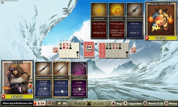 Poker Quest Screenshot 3, Full Version, PC Game, Download Free