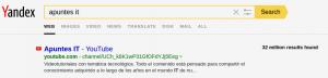 Buscador Yandex - Categorias