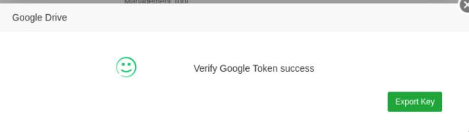 Con este plugin utilizas Google Drive como servicio de almacenamiento de tus copias de seguridad.