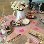 Valentine's Day Tablescape <3