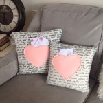 Sweet Valentine's Day Love Letter Cushions