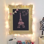 Chalkboard Vignette – Paris Teen Girls' Room