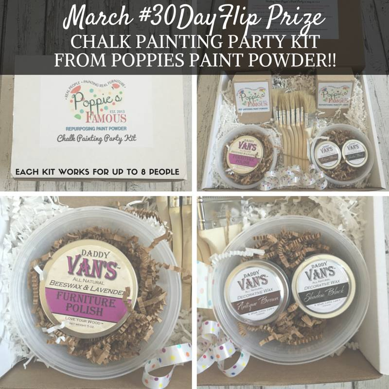 March Furniture Flip Challenge - #30DayFlip Round-Up