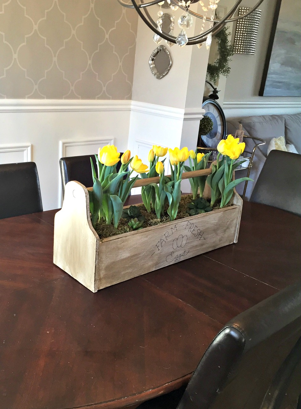 How to Make a Vintage Toolbox Centerpiece  My Crafty Spot