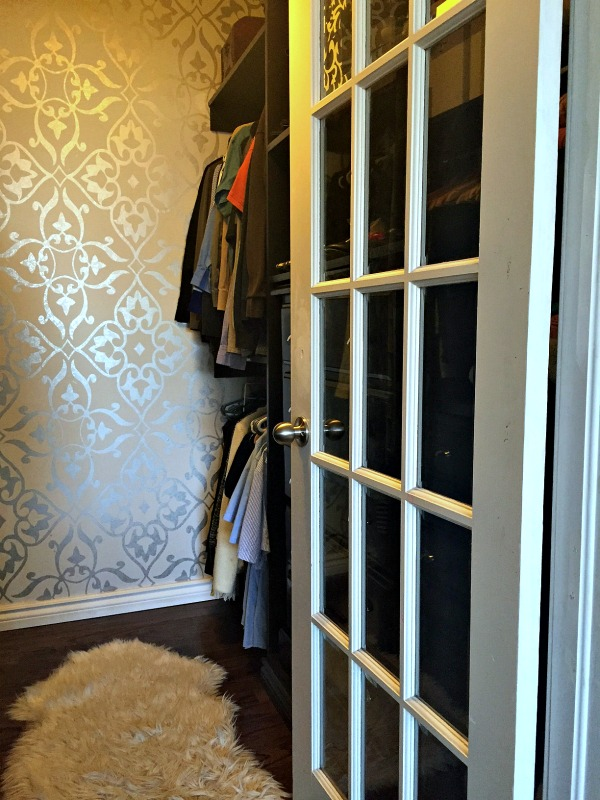 Master Bedroom Closet renovation How to build a custom closet Wallpaper in Closet Walls Republic apurdylittlehouse.com