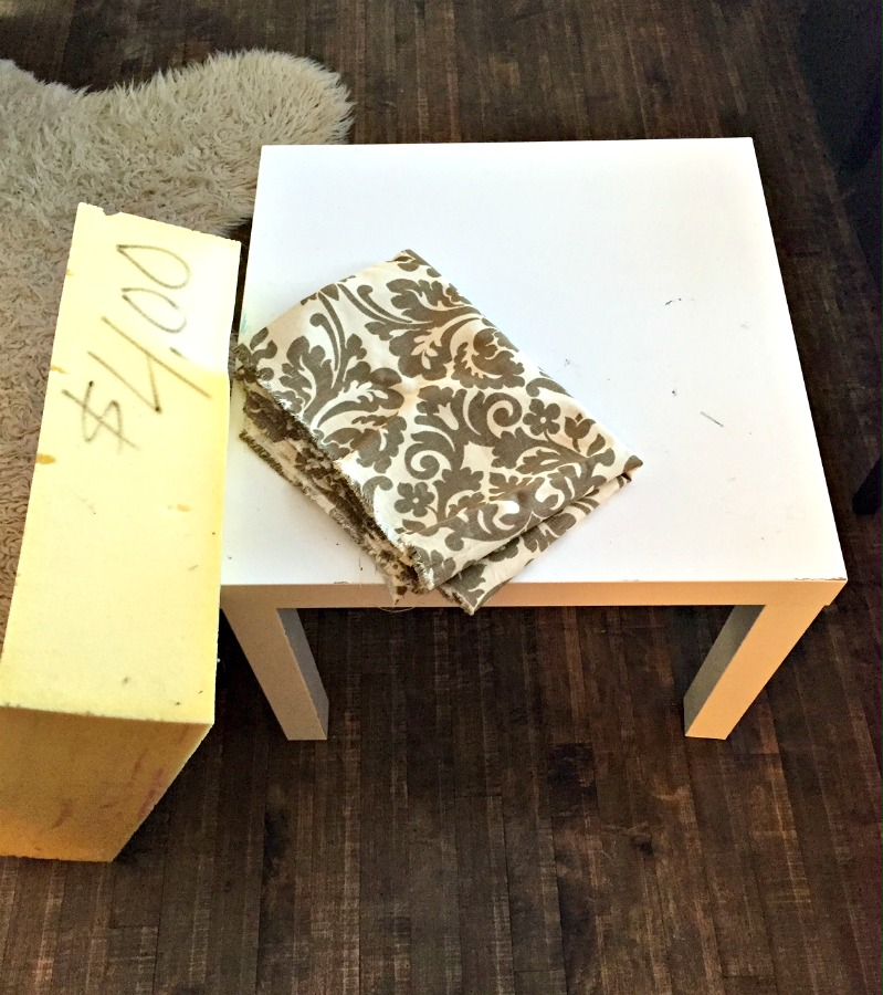 Miraculous Diy Ottoman Coffee Table Ikea Hack A Purdy Little House Ocoug Best Dining Table And Chair Ideas Images Ocougorg