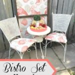 Bistro Set Upcycle