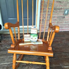 Old Fashioned Rocking Chairs Office Chair Heater Farmhouse Rocker And Milk Paint 101 A Purdy Little House