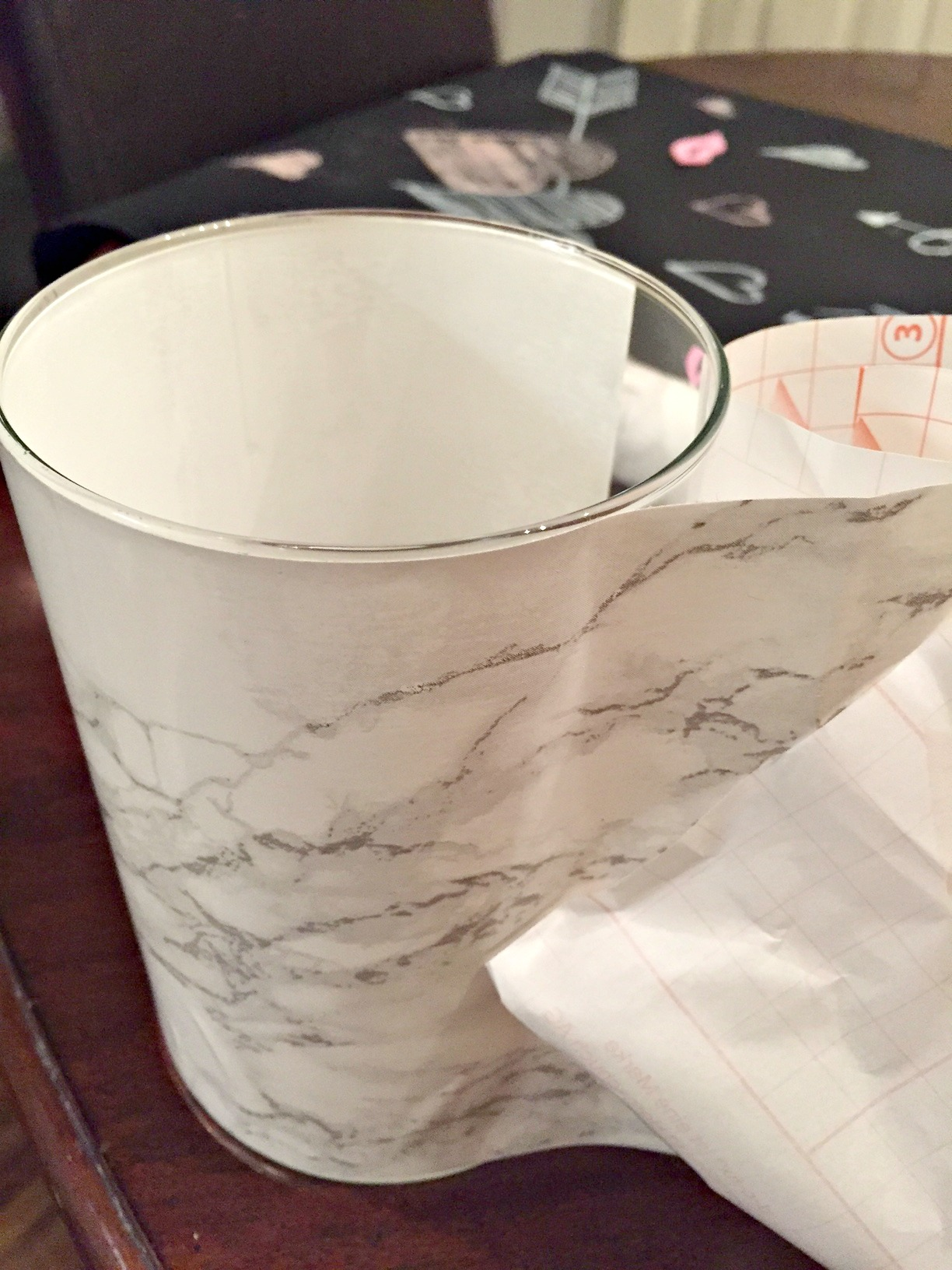 Faux Marble Vase A Purdy Little House